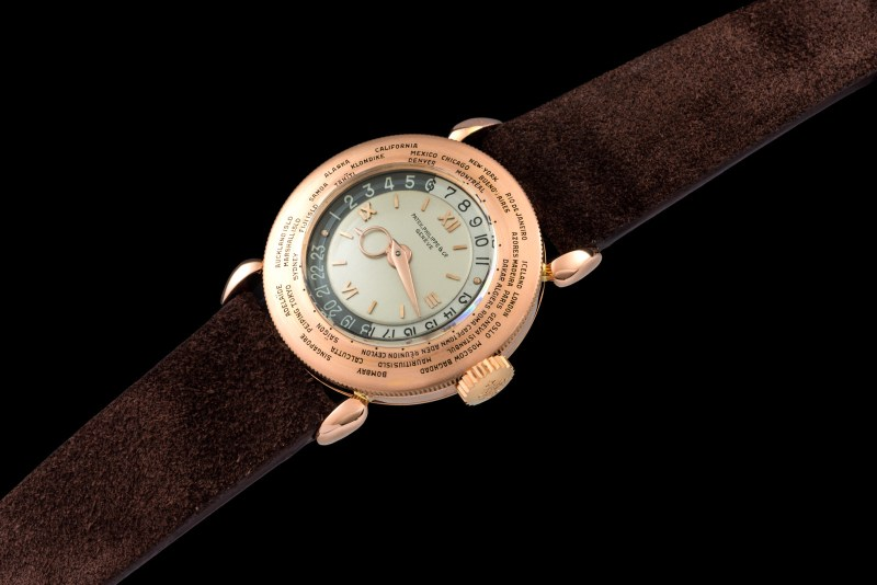 Patek Philippe The pink gold World Time ref. 1415 0