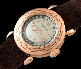 Patek Philippe The pink gold World Time ref. 1415 1