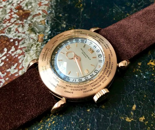 Patek Philippe The pink gold World Time ref. 1415 12