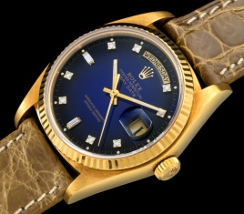 Rolex The Stella blue degradée President ref. 18038 1