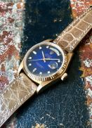 Rolex The Stella blue degradée President ref. 18038 10