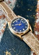 Rolex The Stella blue degradée President ref. 18038 11