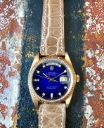 Rolex The Stella blue degradée President ref. 18038 12