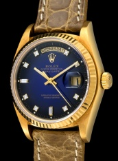 Rolex The Stella blue degradée President ref. 18038 2