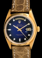 Rolex The Stella blue degradée President ref. 18038 3