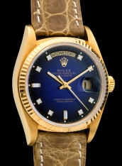 Rolex The Stella blue degradée President ref. 18038 4