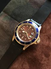 Rolex The Tropical gold Submariner ref. 1680 11
