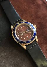 Rolex The Tropical gold Submariner ref. 1680 12