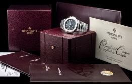 Patek Philippe The Full set steel Nautilus ref. 3712:1A 8